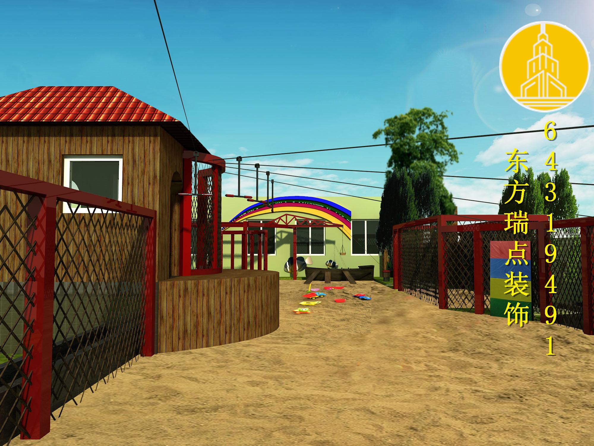 小朋友最喜欢的四种幼儿园装修设计风格