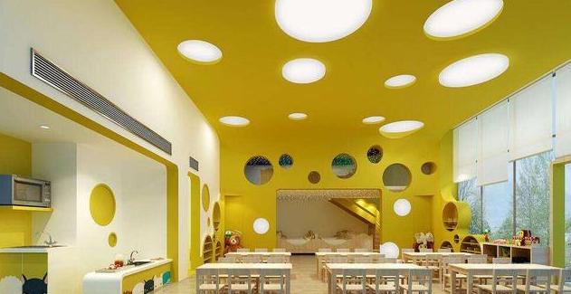 好的幼儿园教室装修设计是让孩子爱上它的开始