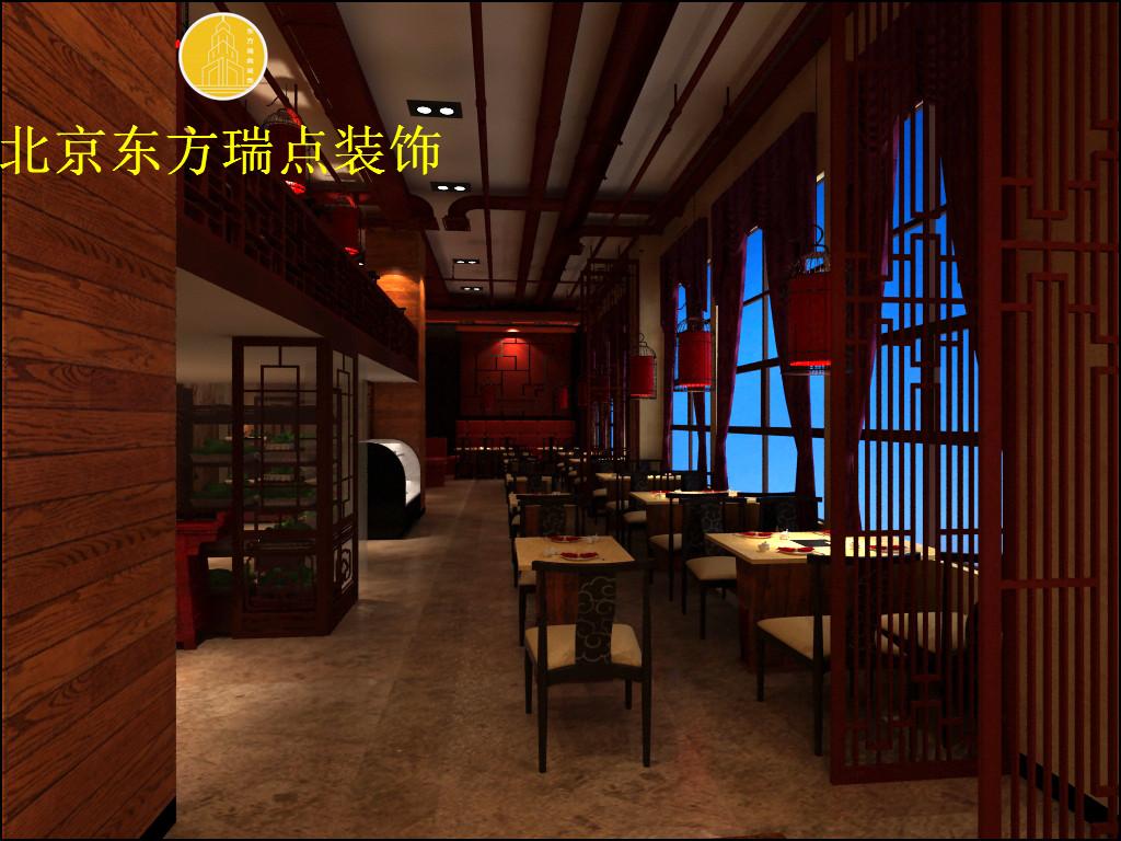 北京火锅店装修